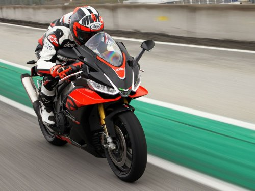 2021 Aprilia RSV4 1100 and RSV4 1100 Factory First Ride