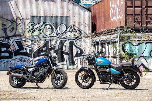 2021 Honda Rebel 300 vs. 2021 Royal Enfield Meteor 350 Comparison Review