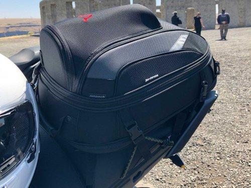 SW-Motech EVO Jetpack Tail Bag Review