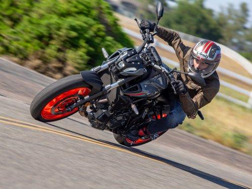 2021 Yamaha MT-07 First Ride