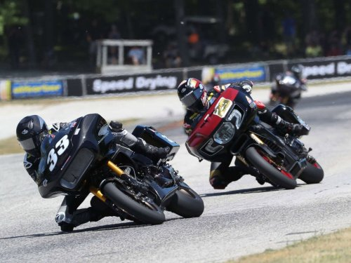 Harley Sweeps Round 2 of 2021 King of the Baggers Series