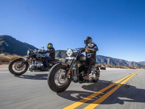 2021 BMW R 18 First Edition vs. 2021 Harley-Davidson Softail Slim Comparison