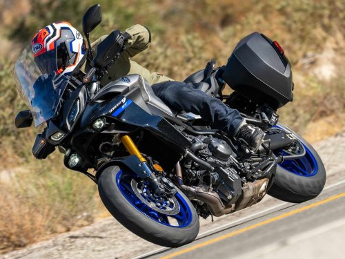 2022 Yamaha Tracer 9 GT First Ride Review
