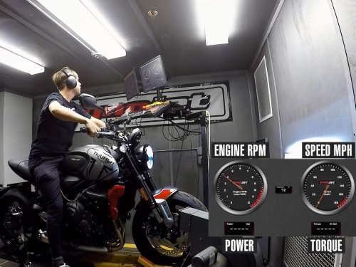 How Much Power Does the 2021 Triumph Trident 660 Make?