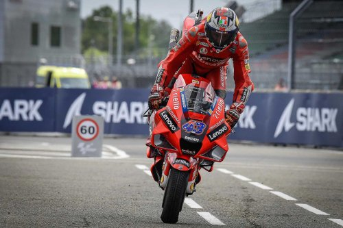 Jack Miller Takes Le Mans MotoGP in Difficult Conditions
