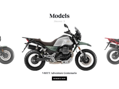 Moto Guzzi USA Launches Ecommerce Platform