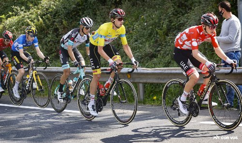 Roglic seizes on UAE mis-step to win Basque Country