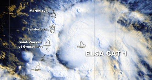 Le système Elsa devient finalement le premier ouragan de cette saison 2021