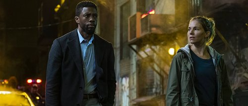 Chadwick Boseman Helped Pay Sienna Miller's 21 Bridges Salary with His Own Money