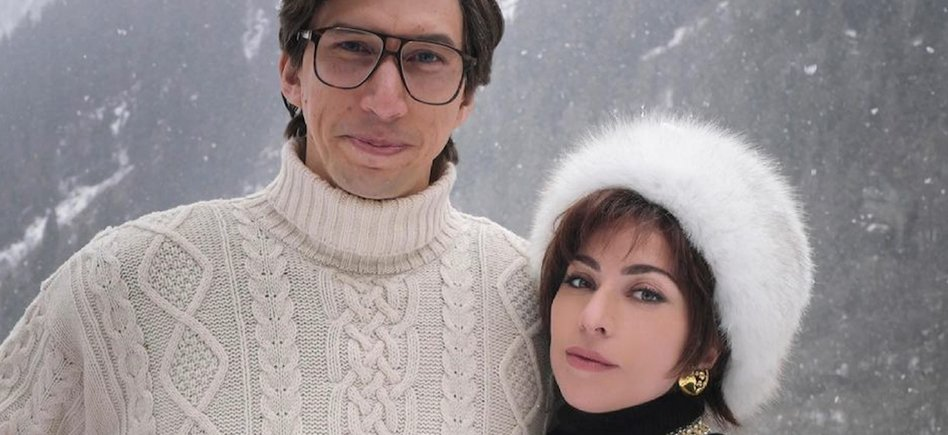 Adam Driver and Lady Gaga Go Skiing in Ridley Scott's New Movie House of Gucci