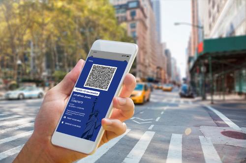 New York rolls out COVID-19 passports based on IBM blockchain technology - SiliconANGLE