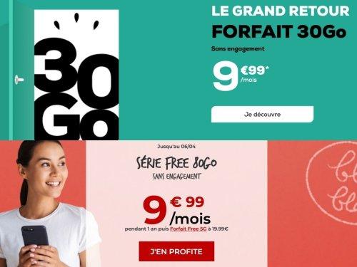 Bon plan forfait 10 euros : Free Mobile ou La Poste Mobile, le duel