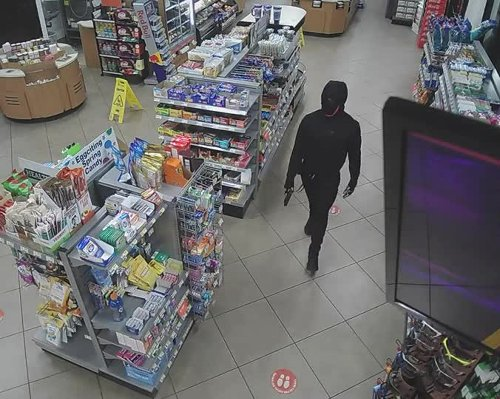 Sheriff releases new surveillance video in murder of RaceTrac clerk, close-up photos of shooter's eyes