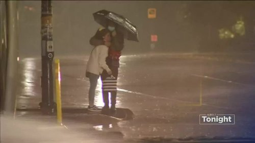 First storm of season brings heavy rain, windy conditions