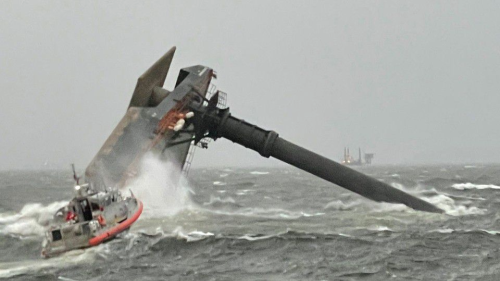 4 dead, 6 rescued after commercial lift boat carrying 19 capsizes in Gulf of Mexico