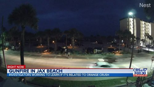 """Gunfire in Jacksonville Beach concerns many on Saturday, mayor says they """"can't conclude"""" if its Orange Crush related"""
