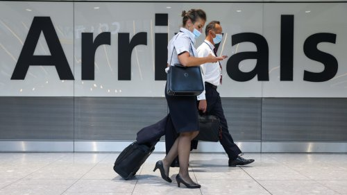 England to reopen borders to fully vaccinated visitors from U.S., Europe