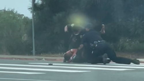 Video of San Diego officers repeatedly punching Black man during arrest triggers investigation
