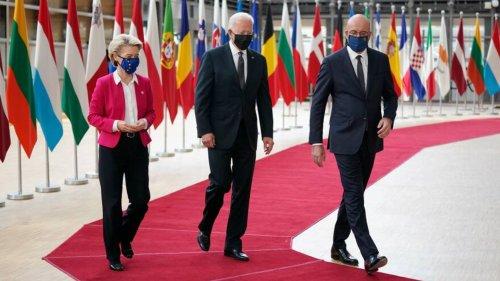 Biden, E.U. end 17-year trade dispute, seek to calm relations after Trump