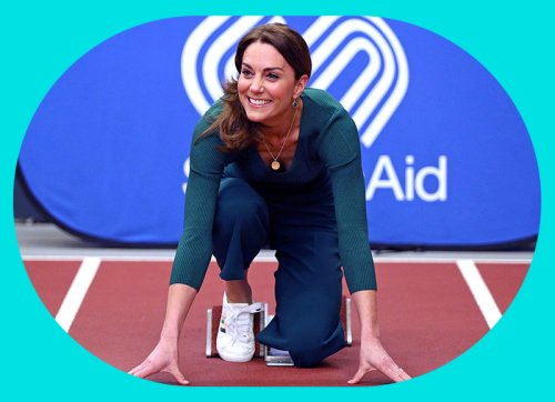 Kate's £29.50 M&S trainers are back in a new colourway - YOU Magazine