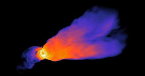 Physicists Identify the Engine Powering Black Hole Energy Beams | Quanta Magazine