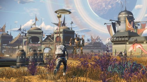 No Man's Sky's Frontiers update lets you govern and grow your own Mos Eisley