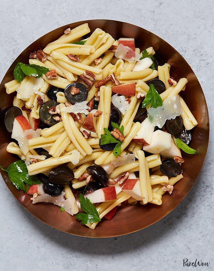 Apple, Grape and Pecan Pasta Salad