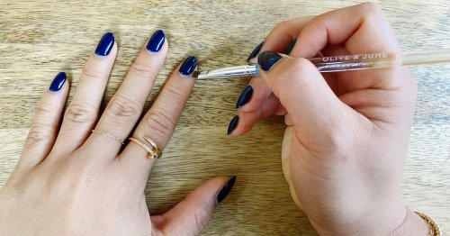 This Clean Up Brush Is the Single Best Thing to Happen to My At-Home Manicure