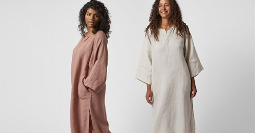 Parachute's Linen House Dress Makes Lounging Feel Expensive
