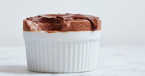 Frozen Chocolate Soufflé