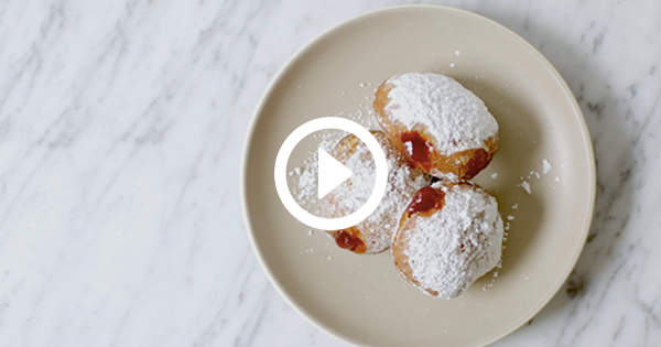 How to Make Not-Quite-Homemade Jelly Doughnuts