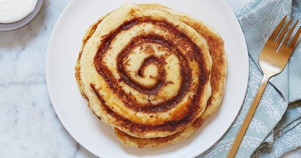 Cinnamon-Roll Pancakes