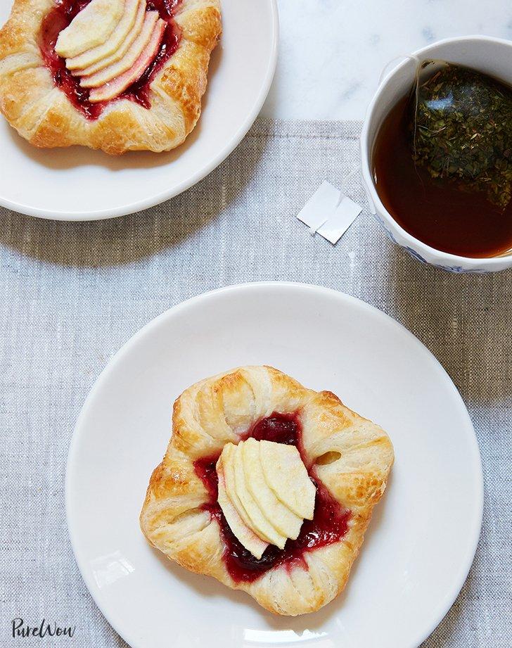 Cranberry Apple Danish
