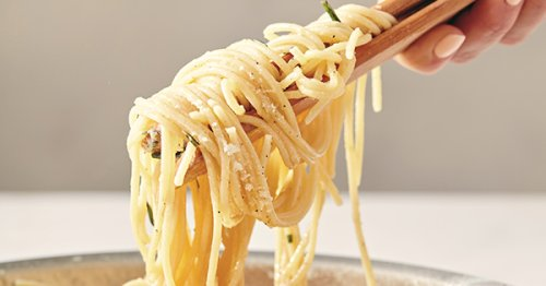 Spaghetti with Rosemary and Lemon
