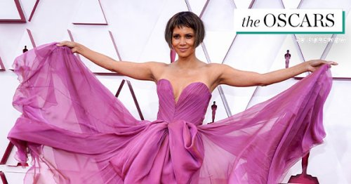 Halle Berry & Van Hunt Made Their Red Carpet Debut & They Look *So* in Love