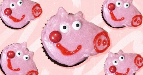How to Make Peppa Pig-Inspired Cupcakes (Because Craft Projects Are Better When They Double as Dessert)