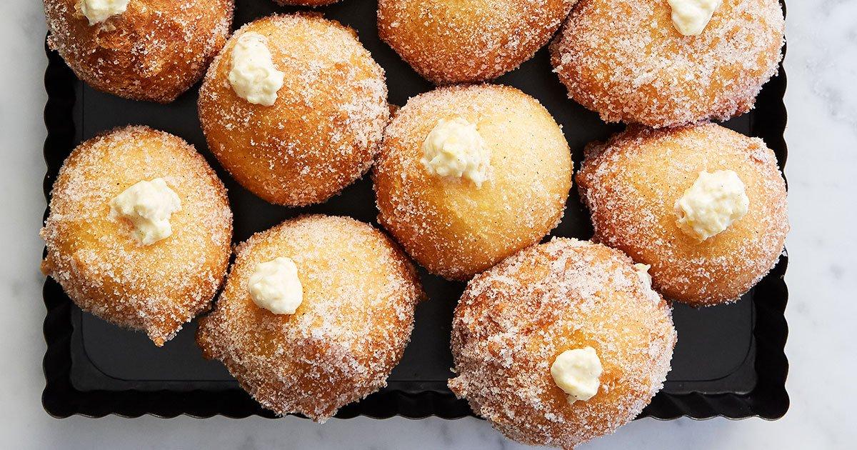 Sweet Corn Doughnut Holes