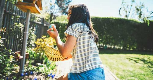 """""""You've Been Egged!"""" Is the Fun Ways Families Are Spicing Up Quarantine Life This Easter"""