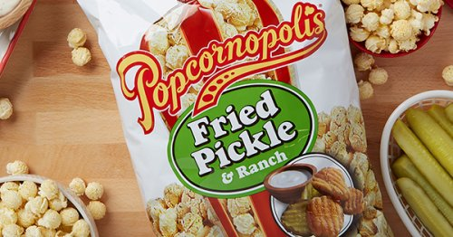PSA: Limited-Edition Fried Pickle & Ranch Popcorn Is Now Available at Sam's Club