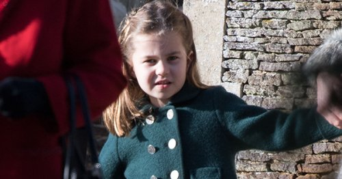Princess Charlotte Sported a Unicorn-Themed Backpack During Recent Family Vacation