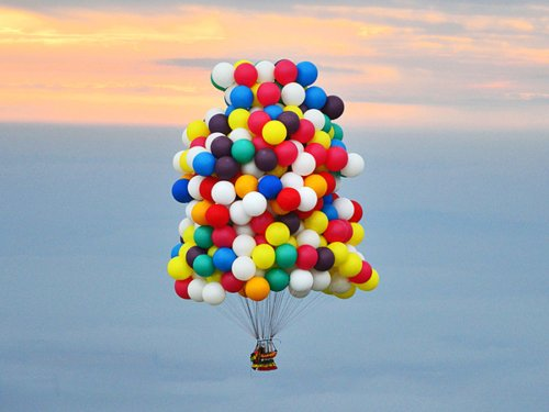 Balloonist stranded in Newfoundland rescued by CBC