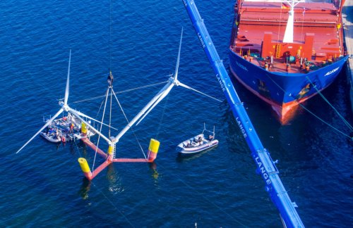 Floating wind farms offshore could boost California's power supply – here's how they work