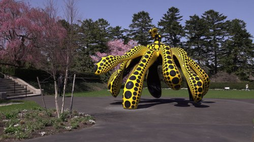 In 'Kusama: Cosmic Nature,' a dialogue between art and the natural world