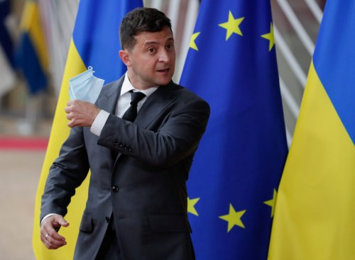 Ukraine president says nation is ready to join NATO