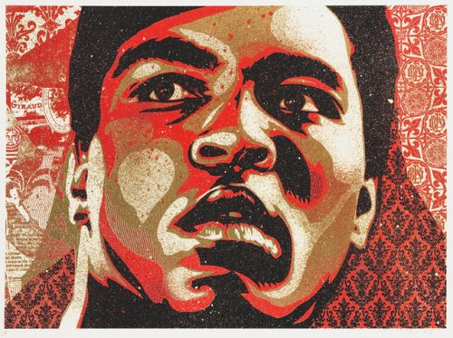 Shepard Fairey | Muhammad Ali (2006) | Available for Sale | Artsy