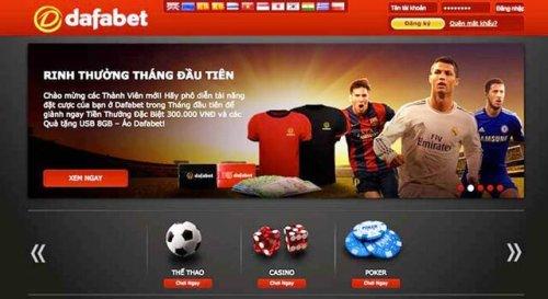 Hướng dẫn đăng ký cá độ bóng đá online tại Dafabet dễ dàng