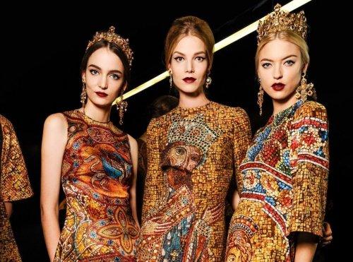 Dress Like An Empress: Byzantine Art in Fashion | DailyArt Magazine