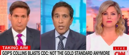 'It Pains Me To Say This': CNN's Dr. Sanjay Gupta Says Sen. Susan Collins Might Be Right To Question CDC