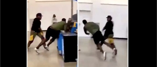 Massive Dude Gets Absolutely Destroyed In A Fight In Wild Viral Video