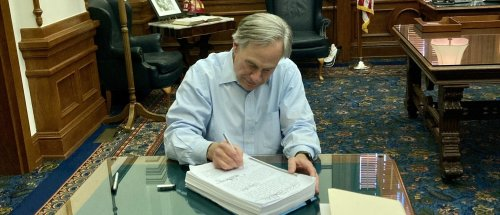 Governor Vetoes Funding For Texas Legislature After Showdown Over Voting Reform
